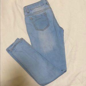 Adjustable Waist Girls Jeans